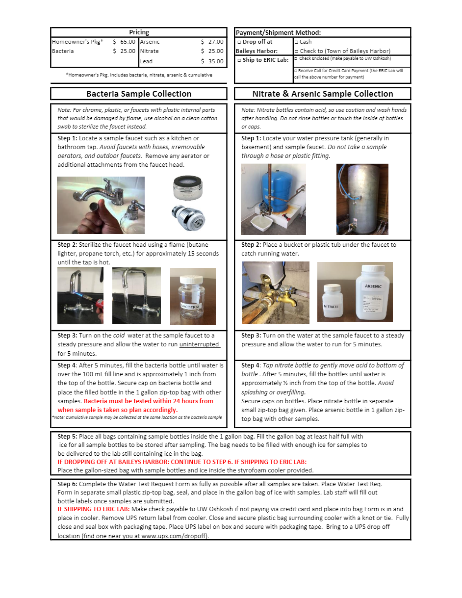 Water Test Request Form p2